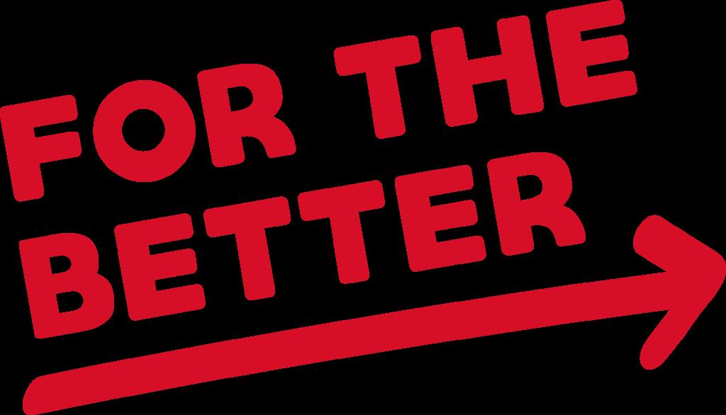 Logo For The Better